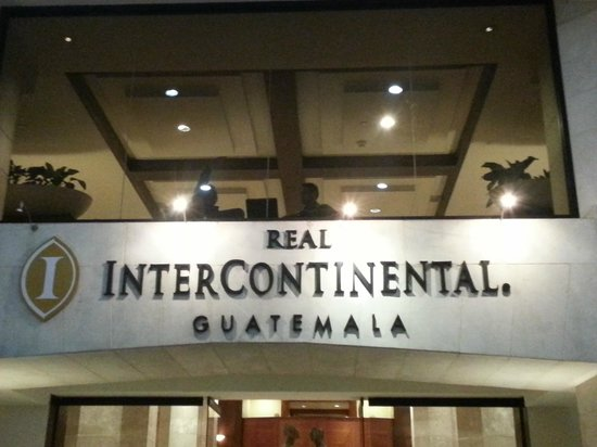 Real InterContinental Guatemala: Sign