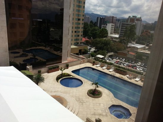Real InterContinental Guatemala: View from Room 812