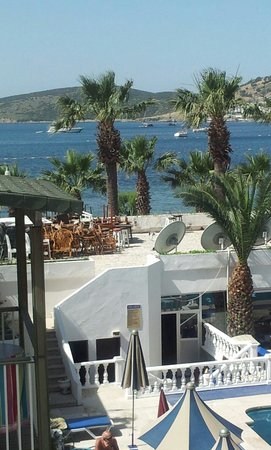 View from our room in Ayaz hotel in may 2013