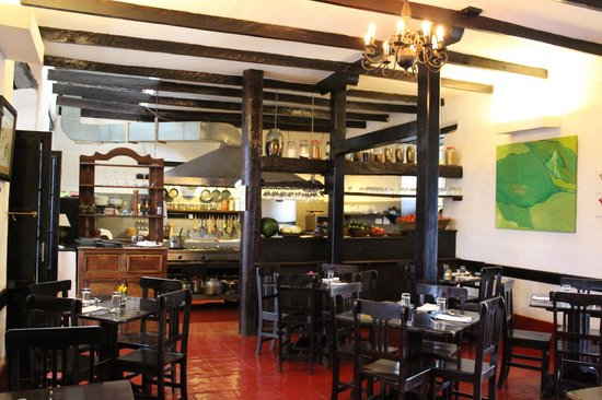 El Albergue Ollantaytambo: Dining room, El Albergue, Ollantaytambo, Peru