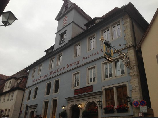Altes Brauhaus: Outside of hotel