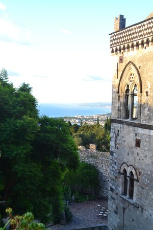 Hotel Del Corso: View from our room