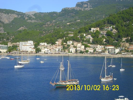 Citric Hotel Soller: view  from hotel citric