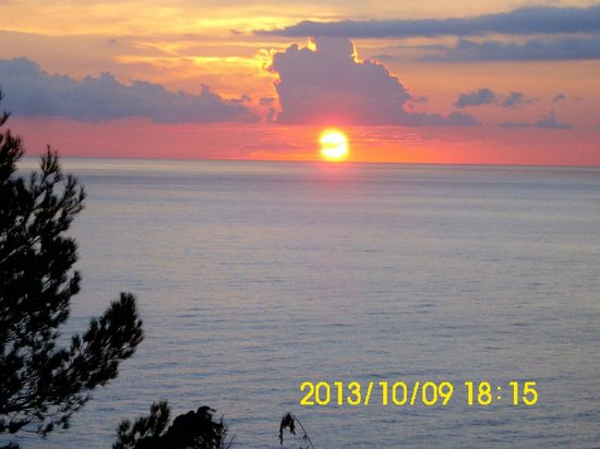 Citric Hotel Soller: sunset