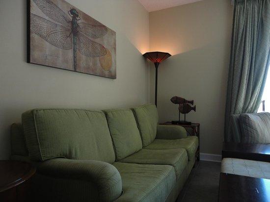 Grand Panama Beach Resort: The living area