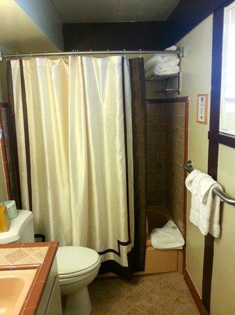 El Pueblo Inn : Bathroom