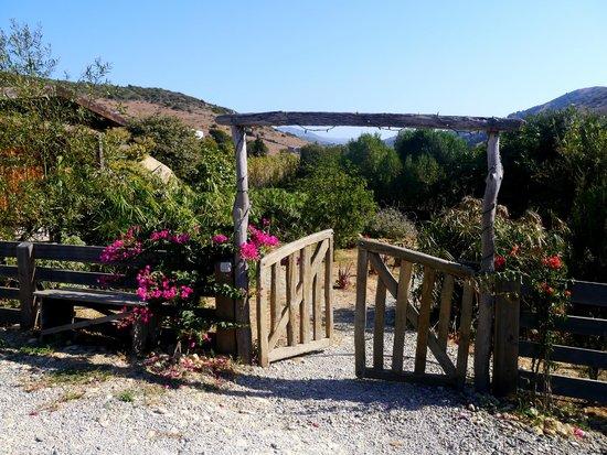 Yurts Tarifa: Entrance