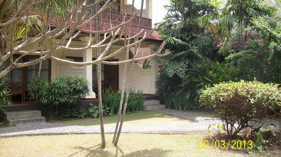 Bumas Hotel: Hier onze kamer