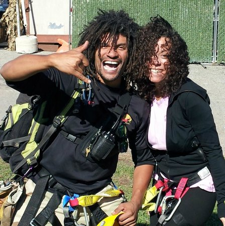 New York Zipline Adventure Tours : Awesome guides, with great hair!