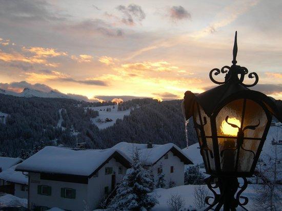 Romantic & Family Hotel Gardenia - Gardenahotels: tramonto dalla terrazza