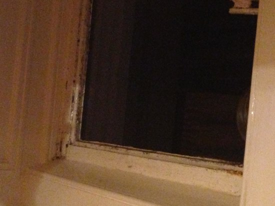 Whitsand Bay Hotel: Mould on bedroom window