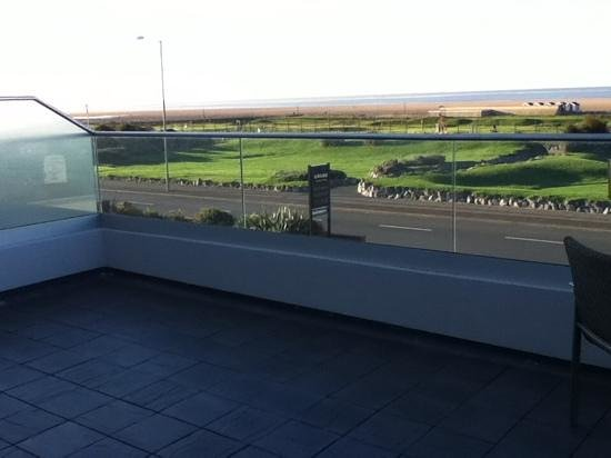 The Grand Hotel: View from balcony
