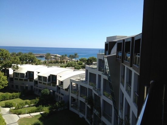 Rixos Sungate: 5th Floor Sea View West wing