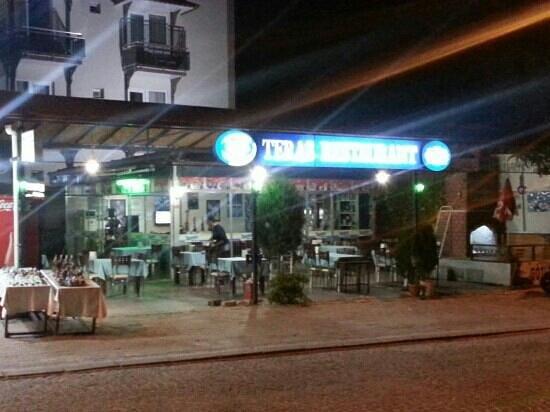 Teras Restaurant : Photo as of 15 Oct 2013