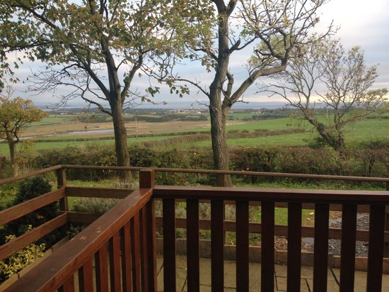 Lochwood Farm Steading: The view