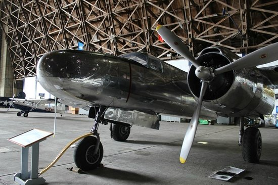 Restored aircraft at the Tillamook Air Museum