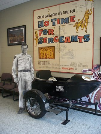 The Andy Griffith Museum: entry to museum