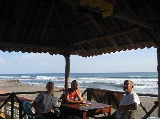Hotelito Oasis : udsigt over Stillehavet
