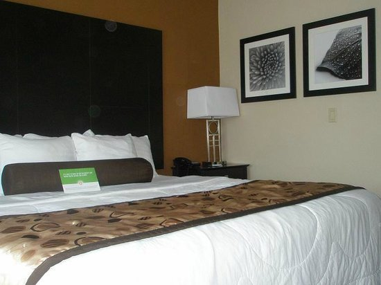 La Quinta Inn & Suites South Bend : the bed