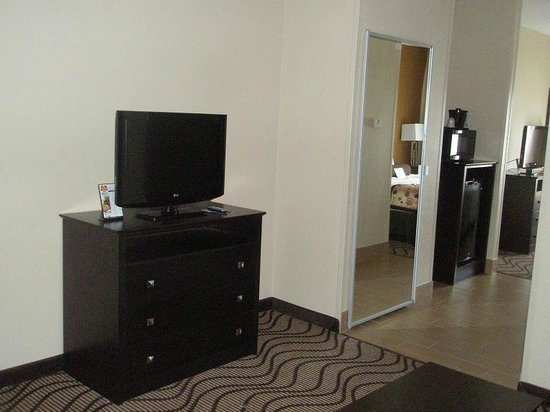 La Quinta Inn & Suites South Bend : TV in suite area