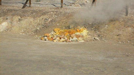 Vulcano Solfatara: Fumarole 1