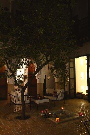 Dar Charkia: the courtyard