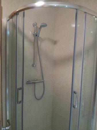 Corick House: Clean spacious shower