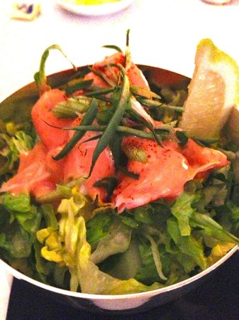 HIX Mayfair : Atlantic Prawn Salad