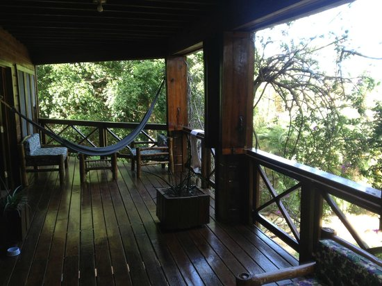 Roatan Bed & Breakfast Apartments: Balkon