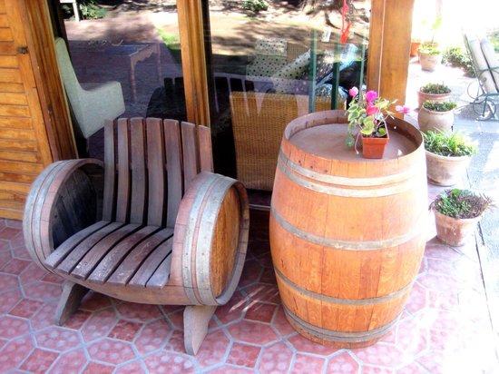 Lujan de Cuyo B&B: Muebles de roble