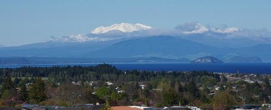 Hilton Lake Taupo : View From Room