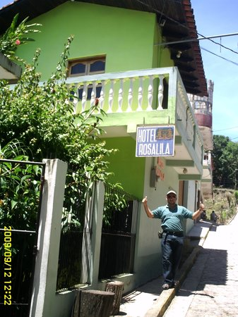 Hotel Rosalila: Entrada principal