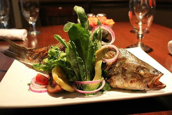 The Heights Restaurant and H Bar: Flame Grilled Whole Fish of the Day