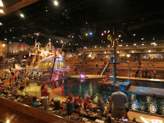Food At Pirates Voyage In Myrtle Beach