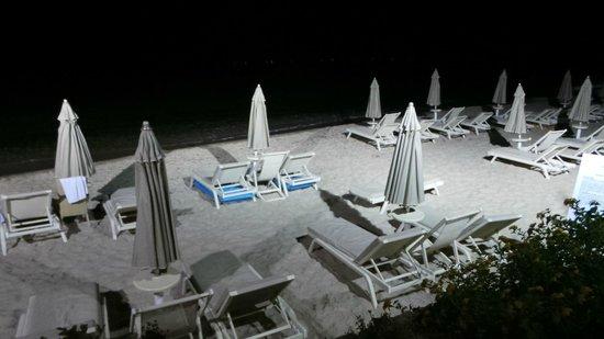 Forte Village Resort - Le Dune: Spiaggia Le Dune di notte