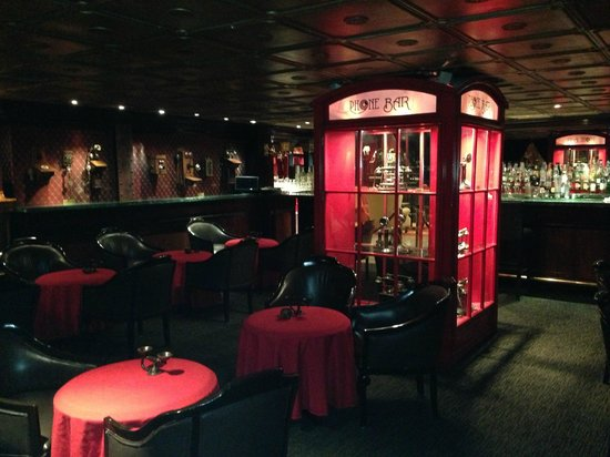 Hotel Geneve Ciudad de México: Telephone Bar