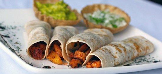 Oxtun: Shrimp tacos - Tacos de camarón