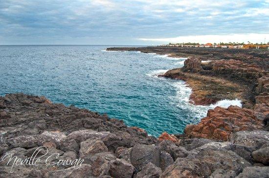Puerto Caleta: Sea front to Caleta de Fuste