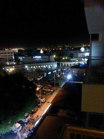 Al Qidra Hotel : Uitzicht vanaf het balkon