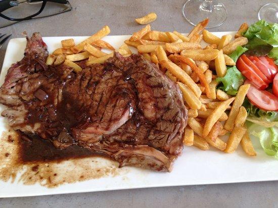 Pauillac, France: Entrecôte bordelaise