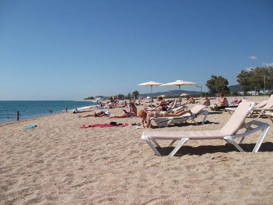 Hotel Luna Club: Local beach