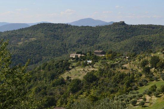 Locanda del Gallo: Blick auf die Locanda