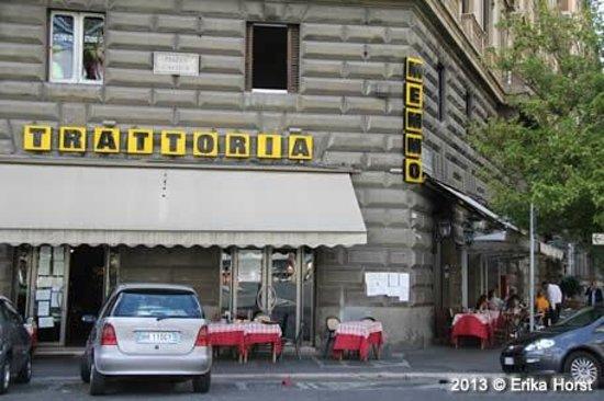 Trattoria Memmo : Fachada vista da Piazza Cavour