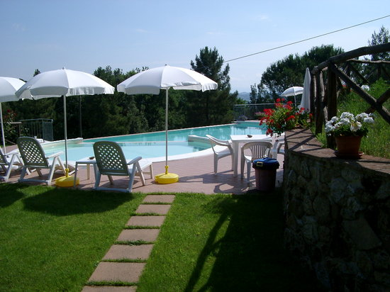 La Grotta : piscina esclusiva per gli ospiti