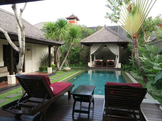 The Ulin Villas & Spa: Pool Villa