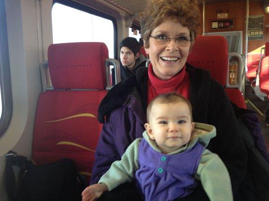 New Mexico Rail Runner: The Ruth Anne's favorite train ride!!!