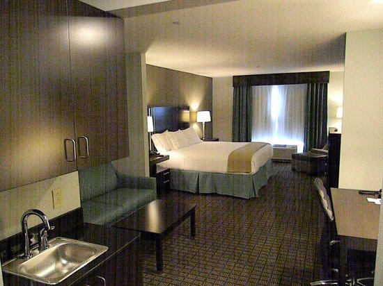 Holiday Inn Express & Suites Selinsgrove : King Suite