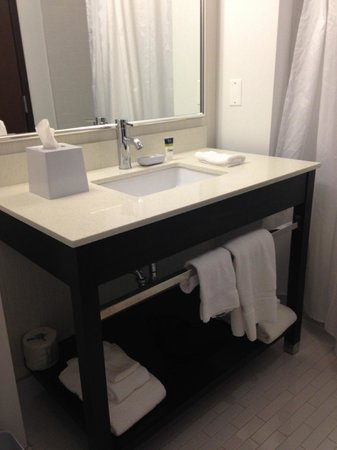 Four Points by Sheraton Edmonton Gateway: Bathroom sink