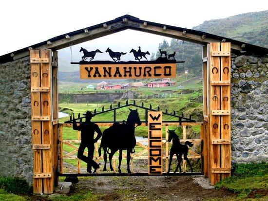 Hacienda Yanahurco: Entrance