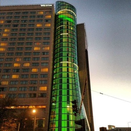 The Westin Warsaw: Hotel exterior